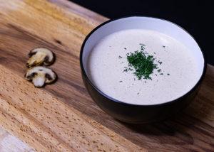 Крем-суп грибной - фото 1