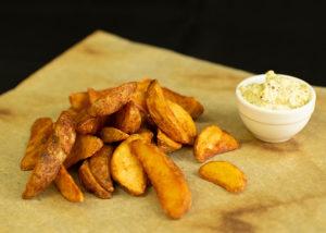 Картофельные дольки - фото 1